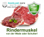 Mobile Preview: Rindermuskelfleisch 125g bis 5000g